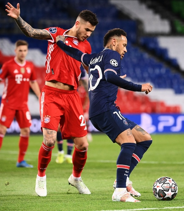 Neymar dice que haber dejado atrás al campeón de Europa les da más mérito. Foto: AFP.