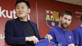 Dos jugadores del Barcelona enojaron a patrocinador japonés