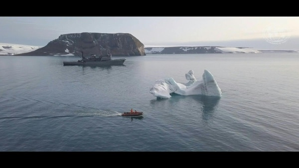 Rusia descubre cinco islas en el Ártico. El derretimiento del hielo las dejó al descubierto. AFP