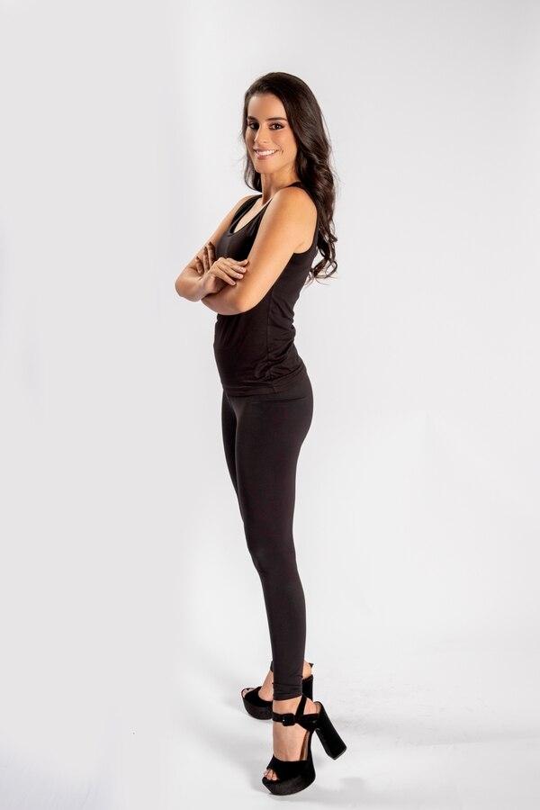 Paula Mendieta Siles, de 28 años y estudió periodismo. Ha participado en Señorita San José 2015, Miss Turismo Latino, Miss Turismo Latino Internacional, Miss Costa Rica Ecology. Foto: Arnold Robert