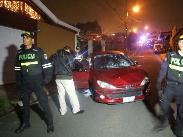 Los atropellos se dieron después de una discusión entre el sospechoso y su novia. Foto: Archivo Jorge Calderón