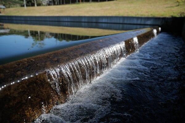 Acueductos al año, según la Cámara de la Construcción, recibe naturalmente agua suficiente para todos los ticos. Foto Jeffrey Zamora.