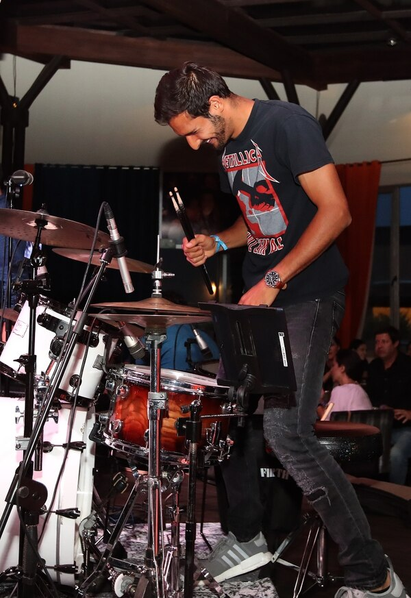 18/06/2017. Belen. Concierto de Kurt Dyer y Celso Borges en el Hard Rock Cafe en proayuda a Aldeas SOS. Fotografia: Graciela Solis