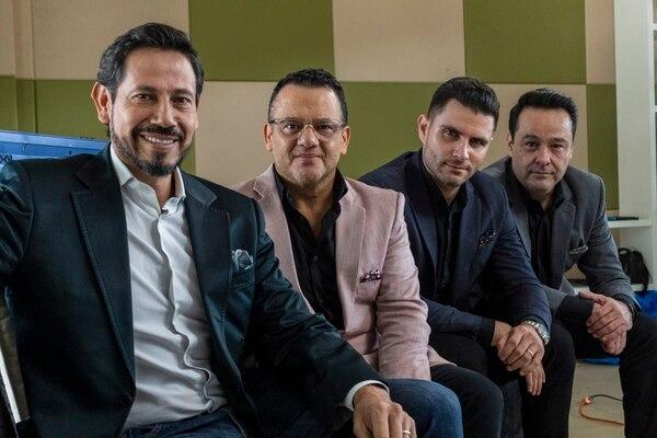 Bernal forma parte del grupo Los Tenores y hasta ahora se animó a organizar un concierto oficial como solista. Foto: José Cordero