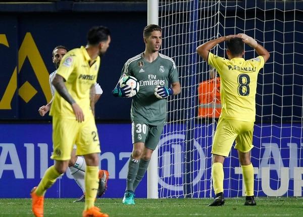 Luca Zidane sería el sacrificado que deje la institución. (AP Photo/Alberto Saiz)