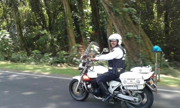Don Javier extraña la libertad que sentía al andar en moto. Foto cortesía Javier Portuguez.