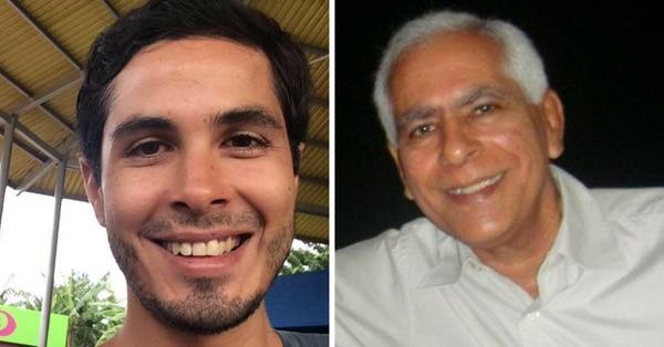Eduardo Mora Arana y su papá, Eduardo Mora Báez, están detenidos desde el jueves.