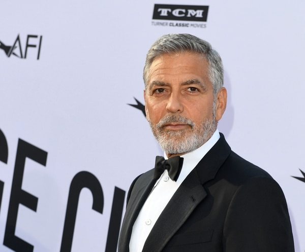 (FILES) In this file photo taken on June 07, 2018 US actor George Clooney attends the 46th American Film Institute Life Achievement Award Gala at the Dolby Theatre in Hollywood. YouTube Premium webcast has commissioned a dark humor comedy that will be co-produced by George Clooney and Kirsten Dunst, who will also be the lead performer, according to the specialized media on June 25, 2018 / AFP PHOTO / VALERIE MACON