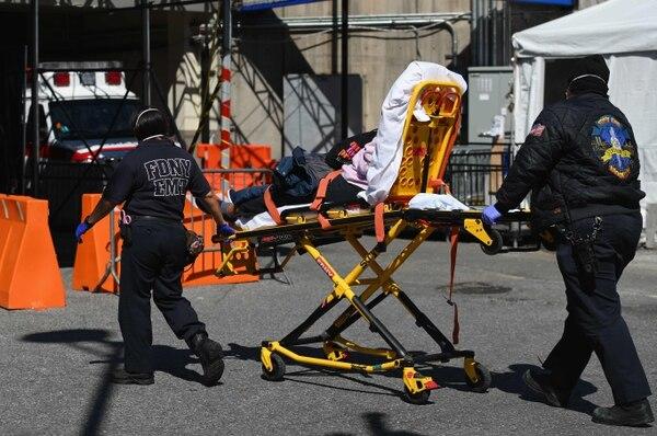 Nueva York es el estado que presenta más casos hasta hoy. AFP