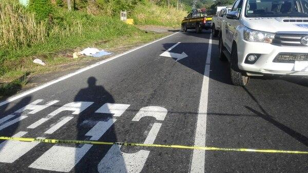 El colombiano Diego García Lemus fue hallado a 800 metros de distancia del cadáver de otro colombiano que encontraron en febrero anterior. Foto: Cortesía para LT