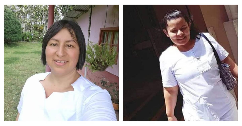 Llilliam Montoya y Lizet Sandí Solano. Foto cortesía.
