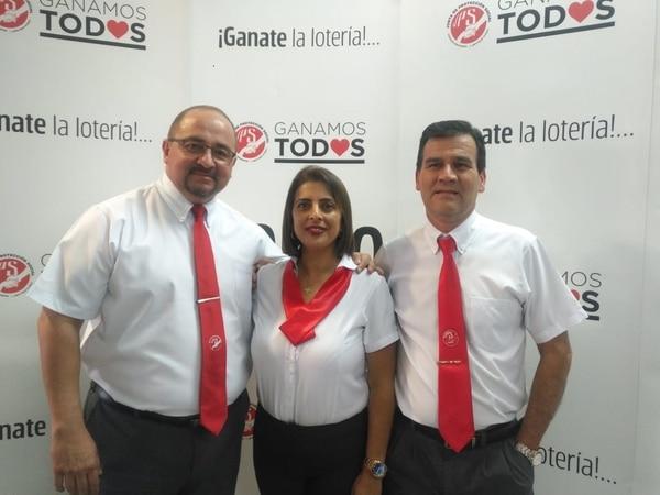 Para Miguel, Mileidy y Jorge cada sorteo es como el primero y por eso, para ellos la concentración es fundamental. Yenci Aguilar.