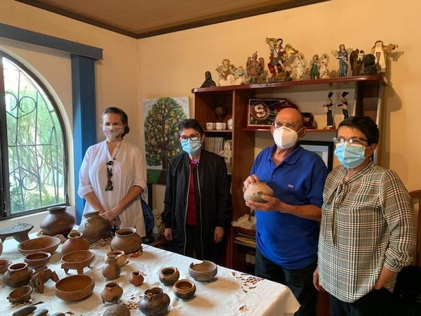 José Antonio Ortega entregó al Museo Nacional de Costa Rica una colección precolombina que custodió desde 1965. Foto: Cortesía
