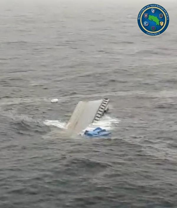Para el comandante Alexis Umaña, los oficiales demostraron gran experiencia para trabajar en el mar. Foto: MSP
