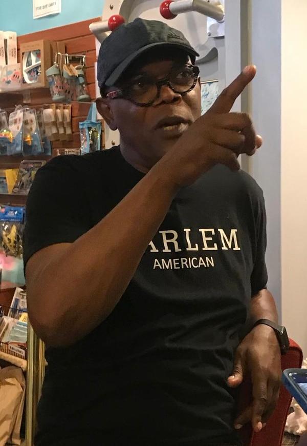 El actor Samuel L. Jackson espera poder venir a compartir con los jóvenes limonenses en algún momomento. Foto: Cortesía