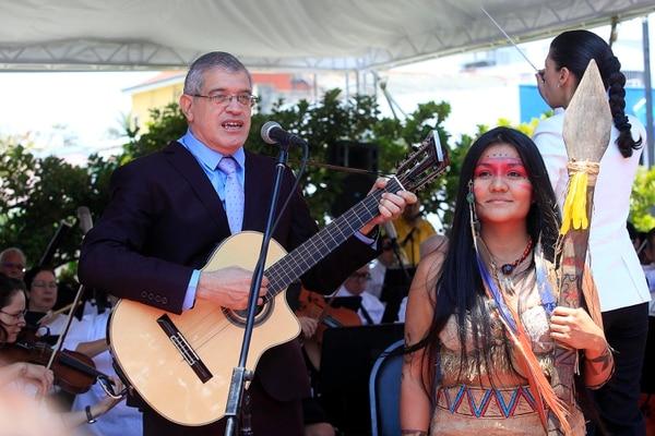 Carlos Guzmán, músico y compositor. Archivo