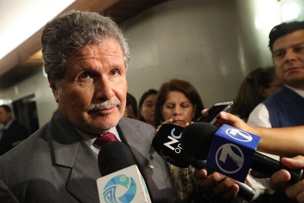 El magistrado reconoció que el martes dijo algunas palabras desafortunadas. Fernando Cruz. Fotografía: John Durán