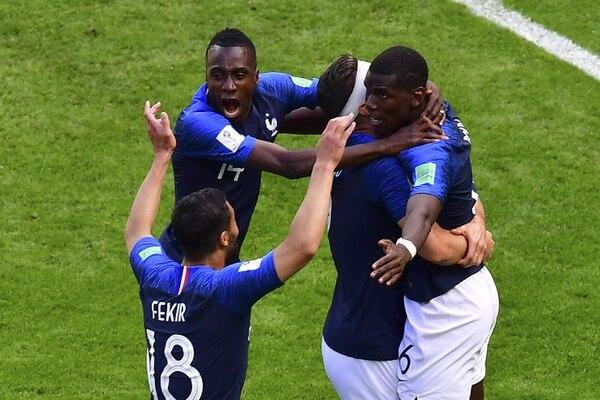 Para Maduro, el triunfo de Francia es en realidad el del África negra. Foto: AFP.
