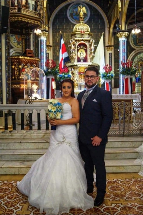 William y Angie se casaron el 14 de setiembre del 2019. Cortesía.