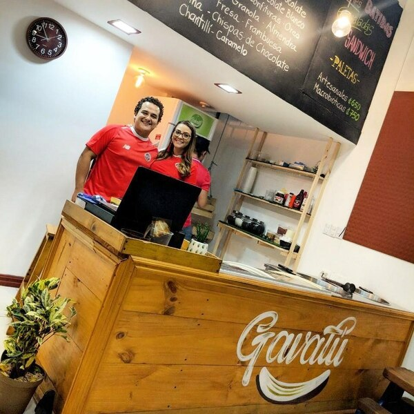 Choché Romano emprendió su negocio Gavalú junto a su esposa. Foto: Instagram.