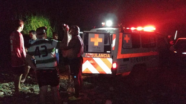 Durante varias horas se mantuvo la búsqueda del muchachito. Foto: Cortesía El Bataneño Noticias y Más
