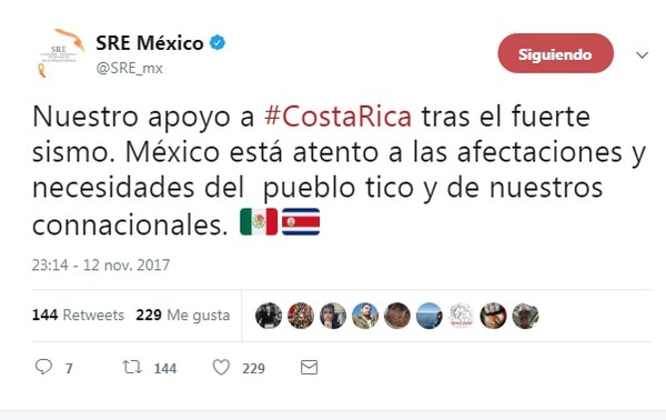 Confirman 2 muertos en Costa Rica tras sismos