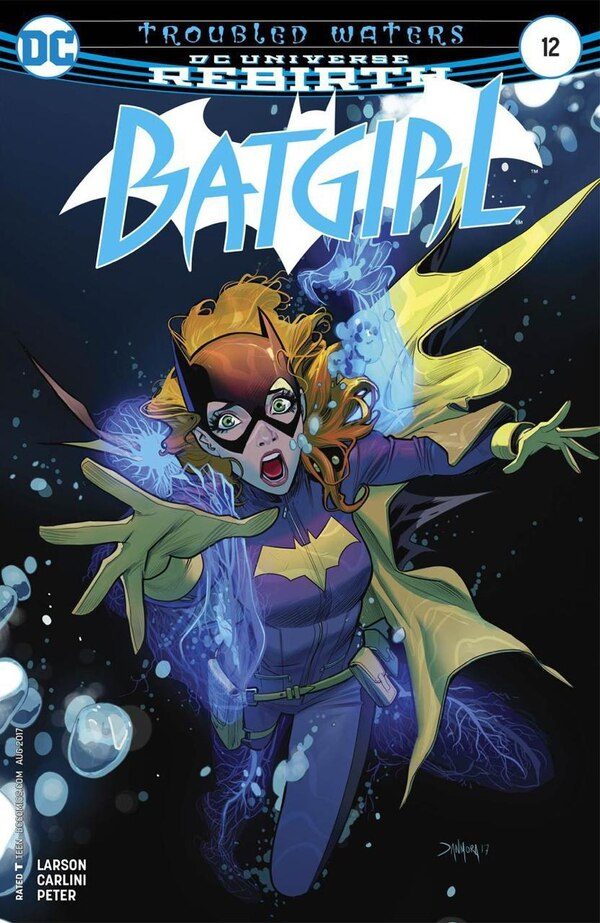 Esta es la primera portada que hizo Daniel Mora para DC Comics. Cortesía.