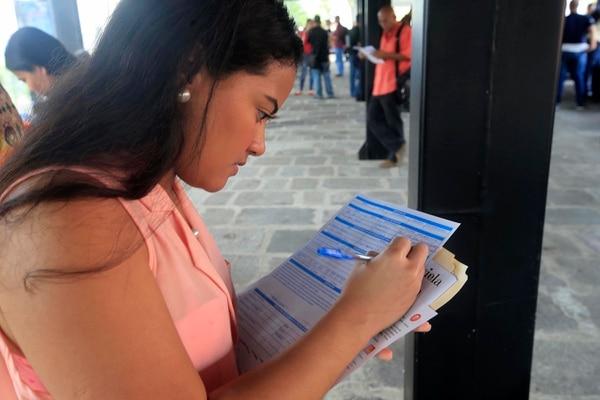 La feria de empleo está dirigida a las mujeres del cantón central de Cartago. Foto: Rafael Pacheco