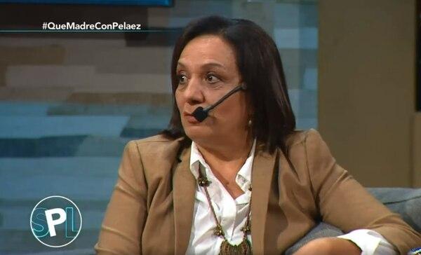 Doña Rosita le pidió a Peláez que de ahora en adelante le tenga más respeto a su hijo. Captura de video