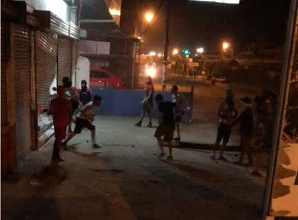 El joven recibió el disparo en la cabeza en medio de un disturbio ocurrido en la madrugada del jueves. Foto: Cortesía de Rubén Acón.