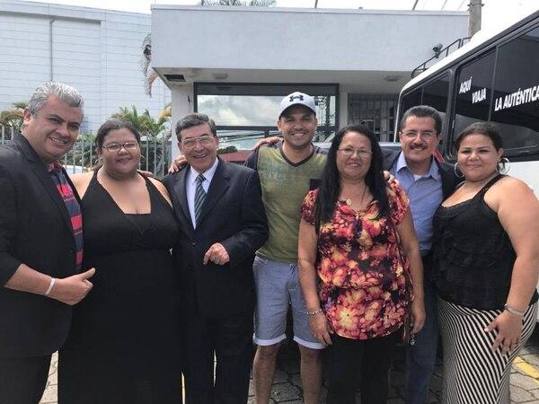 La familia Castro Romero llegó desde Guadalupe para compartir con los méxicanos. Silvia Núñez