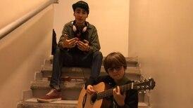 (Video) ¡Gran talento! David Nick y Andrey Ramírez interpretan juntos 'Shape of You' de Ed Sheeran