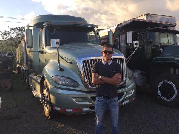 Rooney Mora regresó al fútbol y tomó el control de su empresa de transporte. Foto: Cortesía