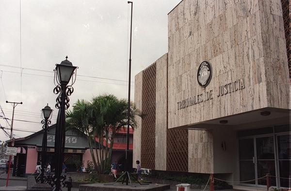 La condena fue dictada en los Tribunales de Heredia. Foto: Archivo GN