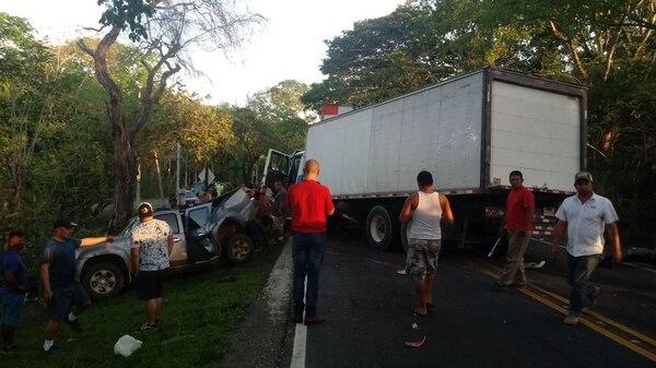 De momento se desconoce cómo se dio el accidente. Foto cortesía.