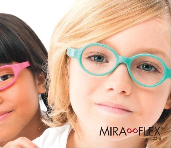 Los aros Miraflex son especiales para los más pequeñitos de la casa y están en Ópticas Visión. Cortesía.