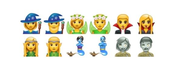 Todavía están en fase de prueba pero estos son algunos de los nuevos emoticones que tendrá WhatsApp. Tomado de blog.emojipedia.org