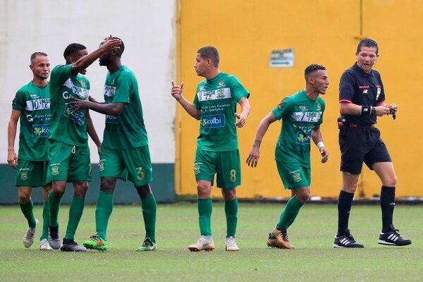 Limón empató a uno contra Saprissa el domingo en la tarde. Rafael Pacheco