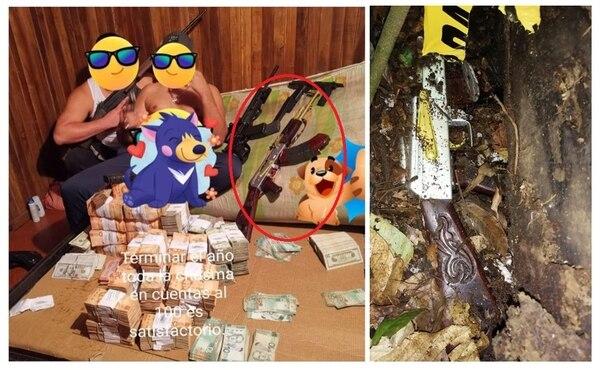 Existen muchas similitudes entre ambas armas. Foto Cortesía.