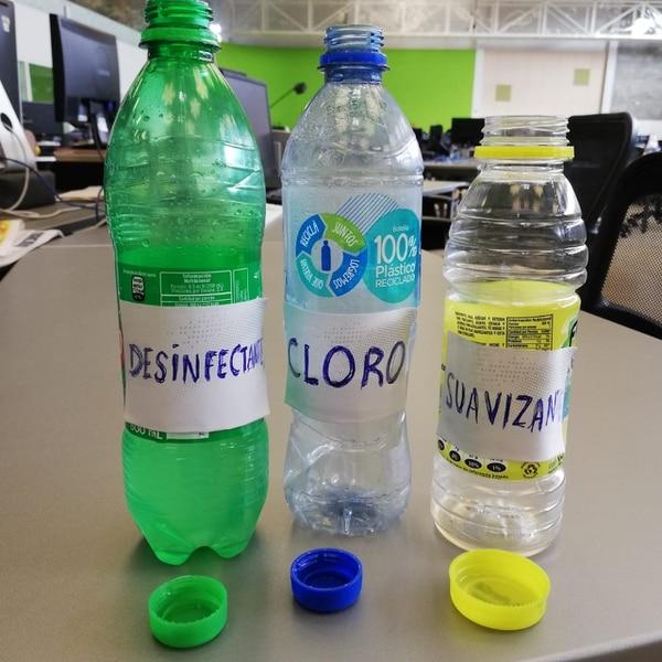 Las autoridades le piden a los adultos no utilizar envases de refrescos para echar químicos pues los niños creen que se trata del refresco tradicional. Foto: Archivo LT