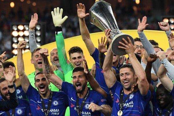 En un excelente segundo tiempo, los Blues se echaron el título a la bolsa. (Photo by Kirill KUDRYAVTSEV / AFP)