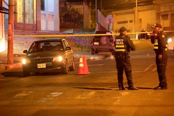 A Christian Altamirano López, de 37 años, lo atacaron cuando estaba dentro de un carro esperando clientes. Foto: Rafael Pacheco