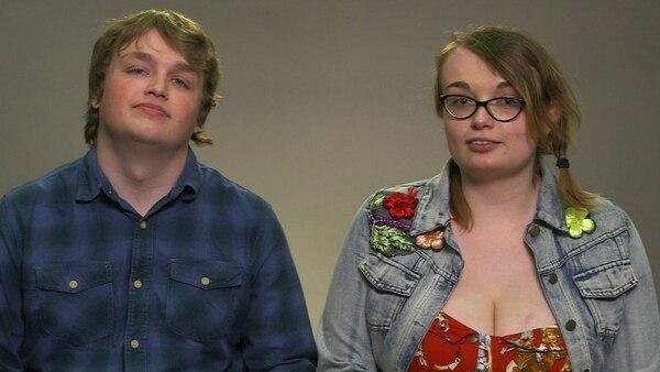 La pareja siente que no son necesarios los cariñitos. BBC.