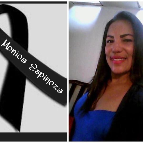 Mónica tenía cinco años de ser maestra en la escuelita dominical. Foto tomada de Facebook.