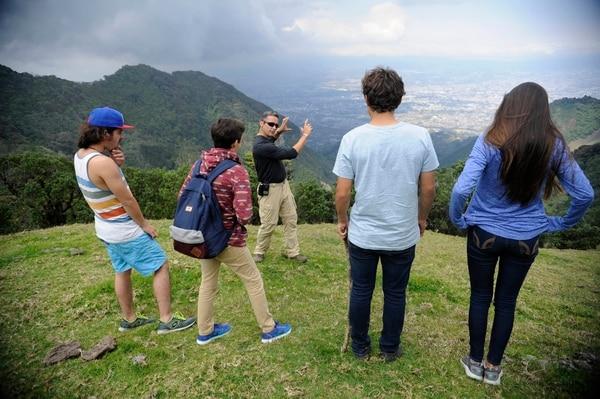 El Pico Blanco es el lugar donde en el 2017 se filmó la película costarricense