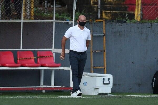 Fallas fue despedido por no aceptar las condiciones de la dirigencia. José Cordero.