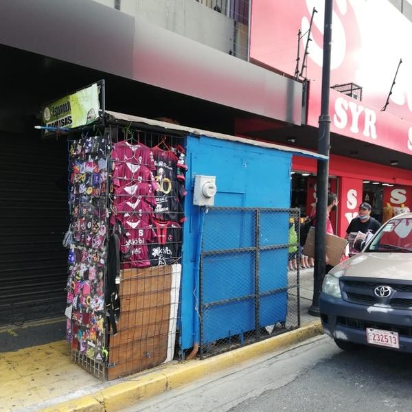 El tramo de doña Mercedes está en la esquina de calle 4 y avenida central. Eduardo Vega Arguijo.
