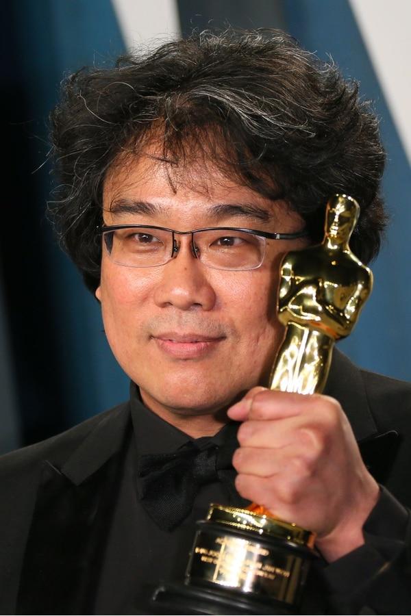 El director Bong Joon-ho rompió más que la barrera del idioma con su película AFP)