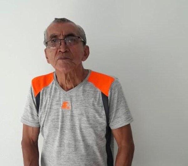 Juan Rafael Brenes, pensionado que recibe solo 13 mil colones de una pensión de más de 800 mil colones.