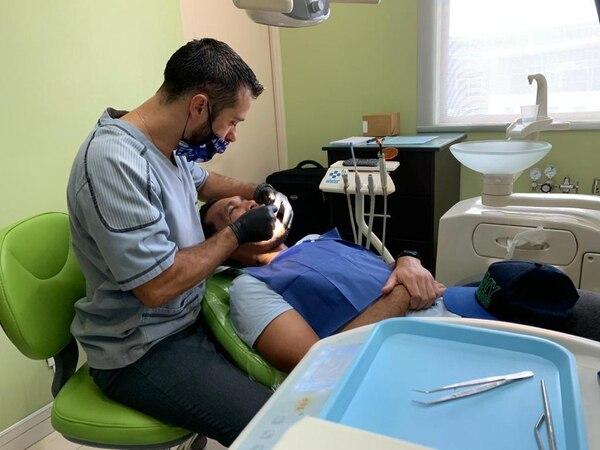Saprissa realizó pruebas dentales a sus jugadores para el inicio de la temporada 2019/2020. Foto: Prensa Deportivo Saprissa